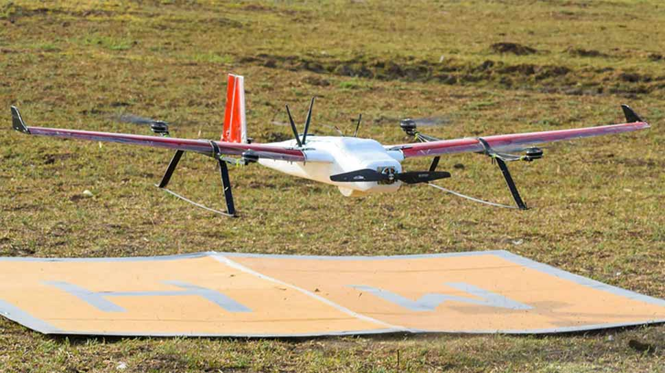 VIDEO : Zomato ड्रोन से करेगा फूड डिलीवरी, हवा में उड़कर मिनटों में खाना पहुंचेगा आपके घर