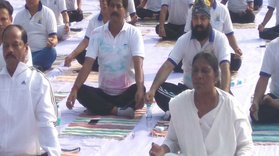 all religious people part of International Yoga Day