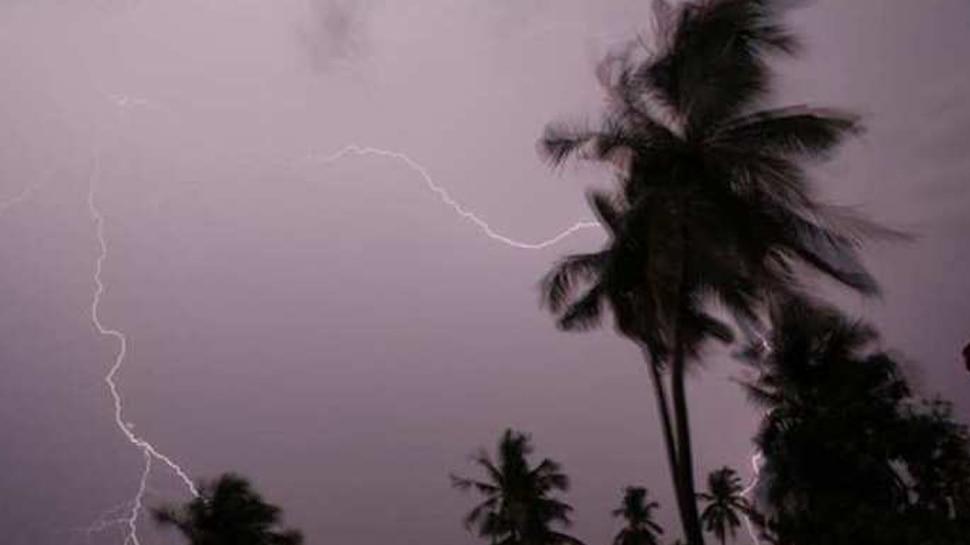 मथुरा में बिजली गिरने से एक की मौत, दूसरा गंभीर रूप से घायल