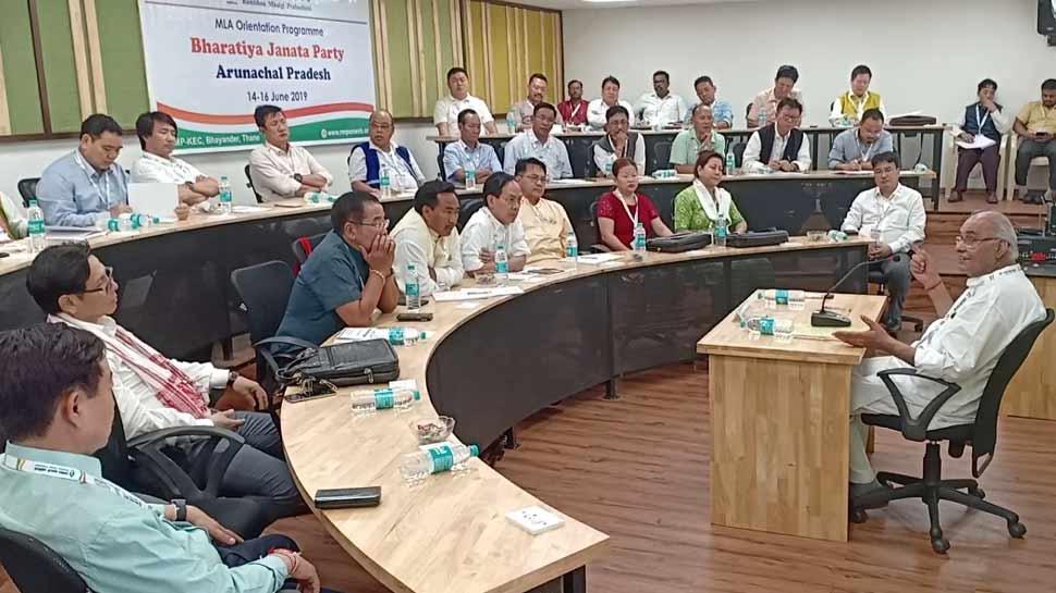 अरुणाचल प्रदेश के विधायक पहुंचे मुंबई, पाठशाला में ले रहे हैं राजनीति की क्लास