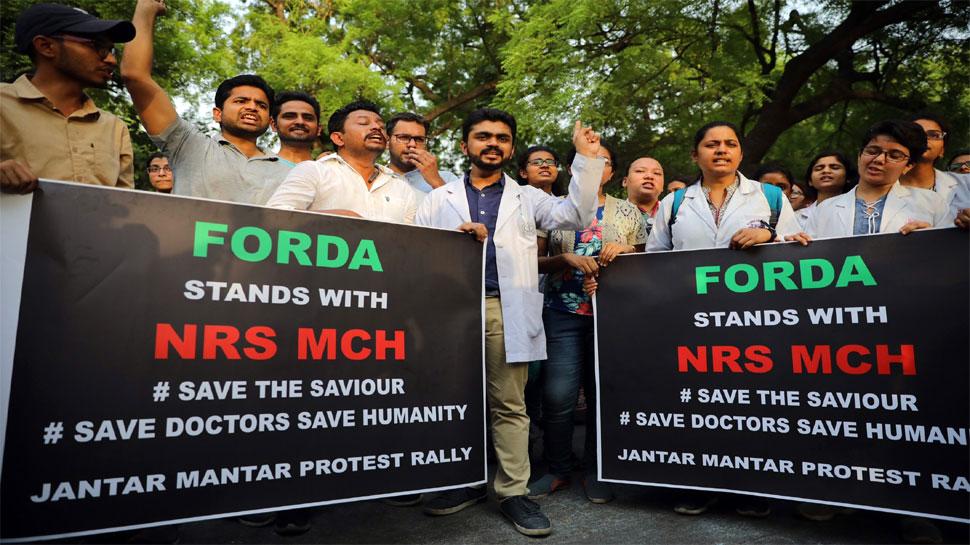 बंगाल में डॉक्टरों का आंदोलन: IMA का तीन दिवसीय विरोध प्रदर्शन, अमित शाह को लिखा पत्र