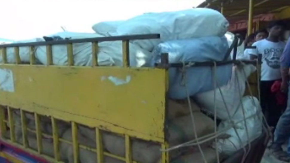 बिहारः दरभंगा में छापेमारी में पकड़ा गया 11 क्विंटल पॉलीथिन