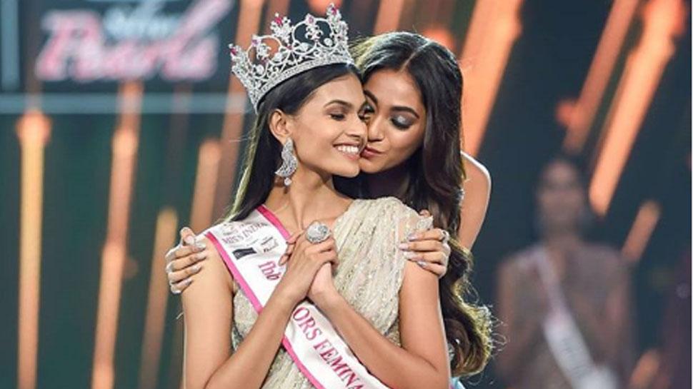 सुमन राव के सिर पर सजा मिस इंडिया 2019 का ताज, ये हसीनाएं बनीं रनरअप...