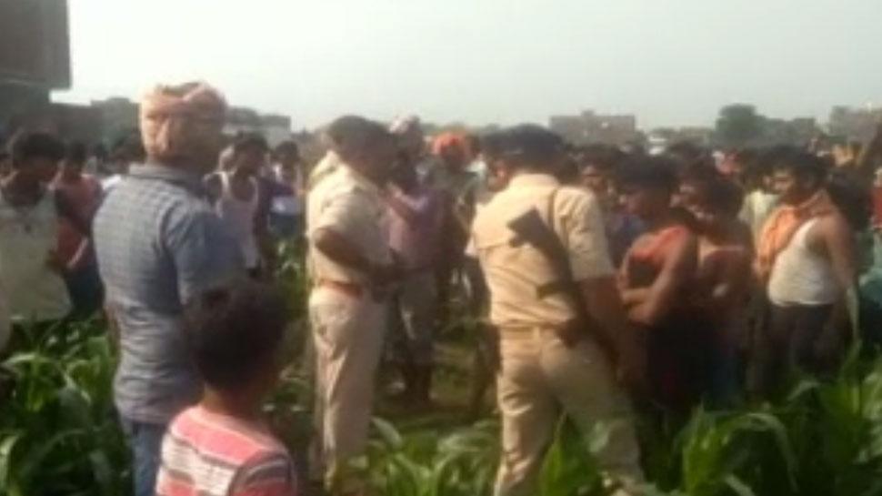 भागलपुरः दो दिन पहले लापता व्यक्ति की मिली सिर कटी लाश, थानेदार सस्पेंड