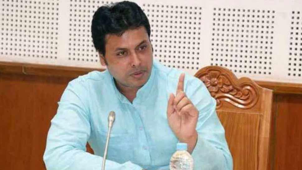 त्रिपुरा के मुख्यमंत्री पर फेसबुक पोस्ट लिखने वाला व्यक्ति दो दिन की पुलिस हिरासत