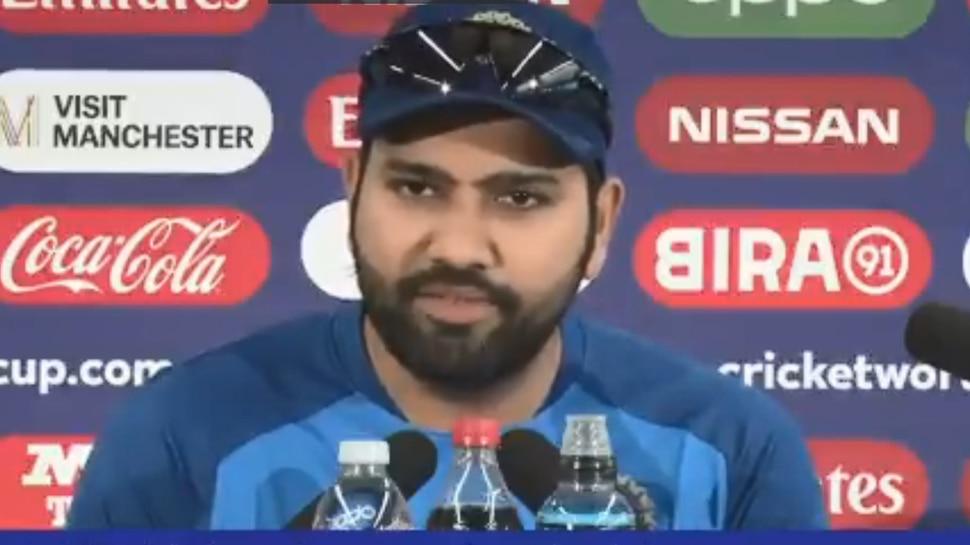 VIDEO: रोहित ने कहा- उनकी लाइफ में आ गई हैं 'लकी चार्म', इसी वजह से बल्ला उगल रहा है रन