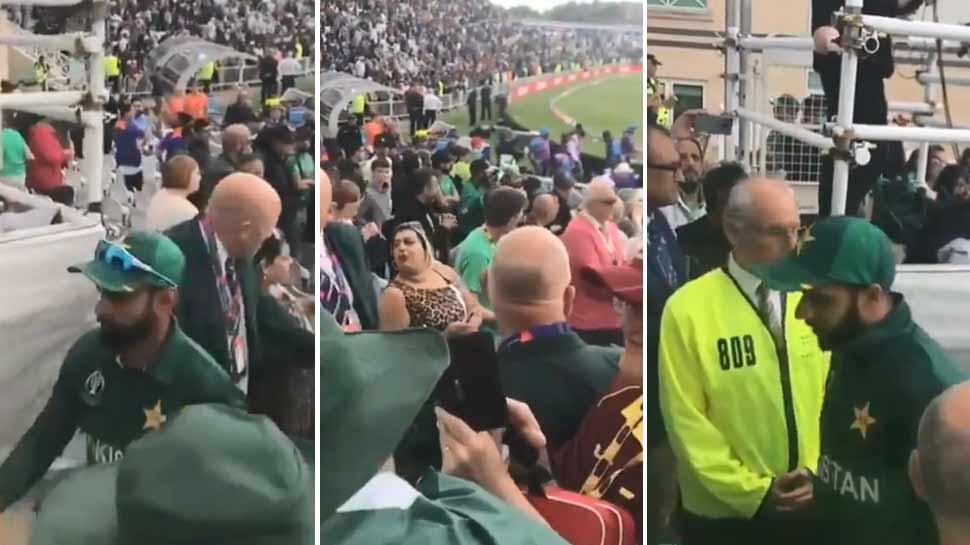 भारत से हार के बाद पाकिस्तानी फैंस ने अपने ही खिलाड़ियों को कहे अपशब्द, देखें VIDEO