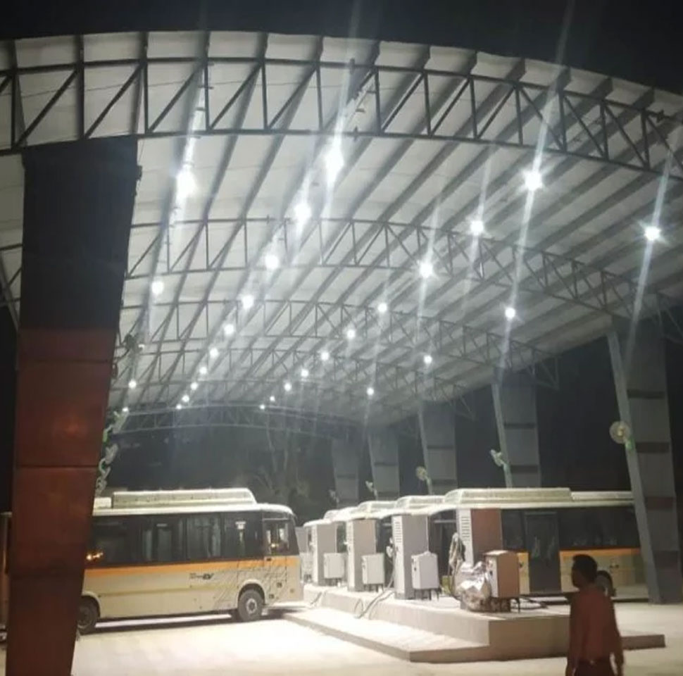 40 buses to run with inauguration