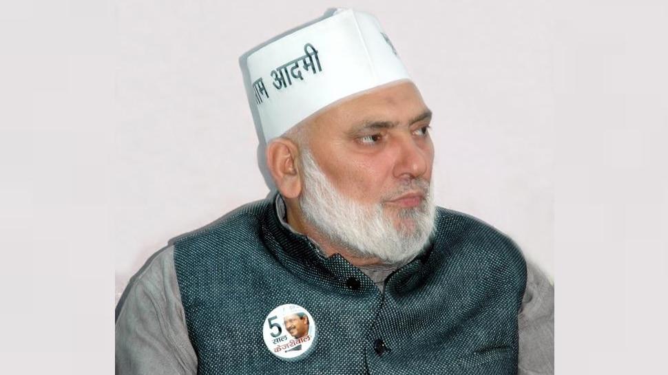 AAP विधायक हाजी इशराक खान ने दिल्ली बीजेपी प्रमुख मनोज तिवारी से की मुलाकात