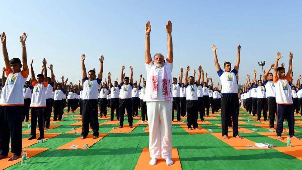 अंतरराष्ट्रीय योग दिवस आज, रांची में 40 हजार लोगों के साथ योग करेंगे पीएम मोदी