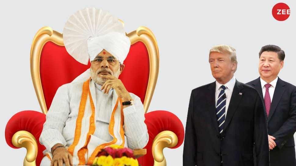 दुनिया के सबसे ताकतवर शख्स बने PM मोदी, ट्रंप और शी जिनपिंग को भी पछाड़ा