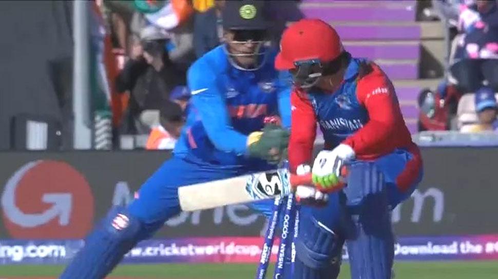 IND vs AFG: धोनी की शानदार स्टंपिंग, राशिद खान आउट और पलट गया पूरा मैच; देखें VIDEO