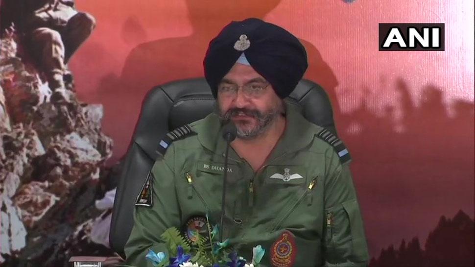 बालाकोट के बाद पाकिस्तान हमारी एयरस्पेस में नहीं घुस सका, वे LoC पार नहीं कर सके: वायुसेना प्रमुख