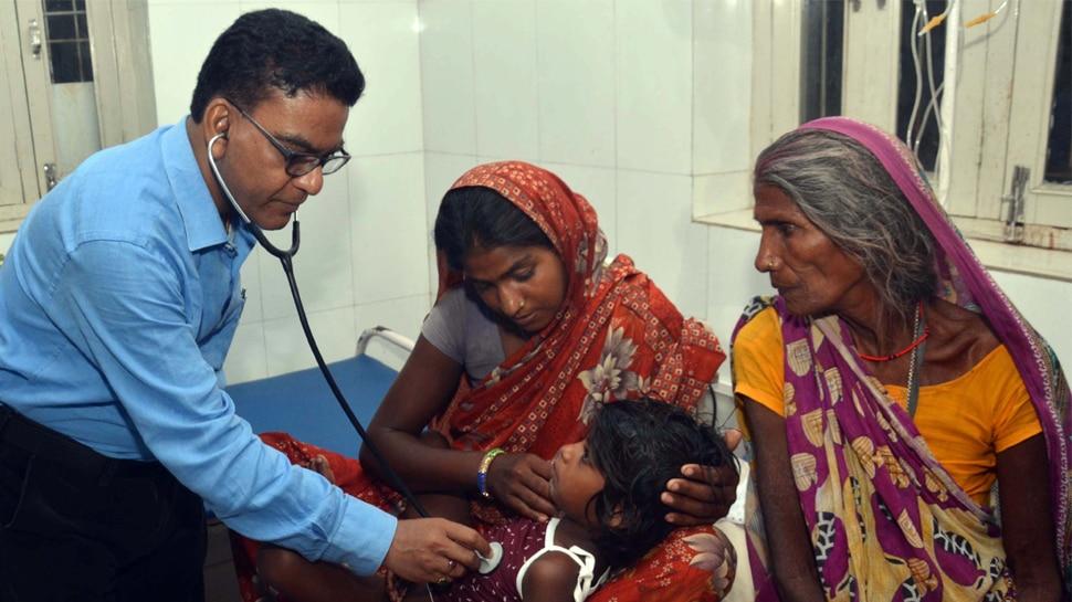 बिहार : बारिश के थमते ही चमकी बुखार के 4 मरीज SKMCH में भर्ती, डॉक्टर सतर्क