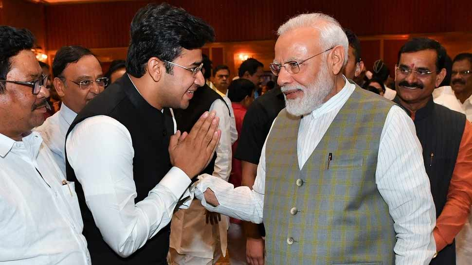 PM मोदी ने सियासत के फैमिली बिजनेस होने की आम धारणा को खत्म किया : सूर्या