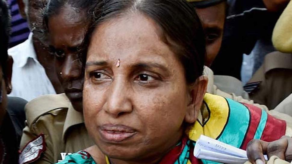 राजीव गांधी हत्याकांड: अदालत ने नलिनी को व्यक्तिगत रूप से बहस करने की अनुमति दी
