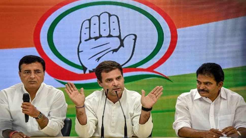 राहुल गांधी अध्यक्ष पद छोड़ने पर अड़े, कांग्रेस सांसद बोले नहीं है कोई विकल्प