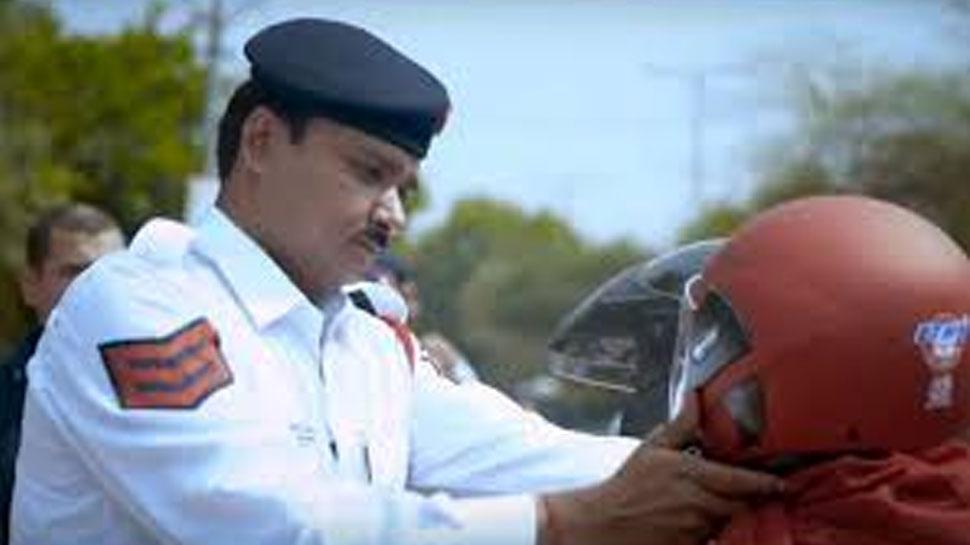 फतेहपुर शेखावाटी: यातायात पुलिस की कार्रवाई में कटा चालान, 7 ऑटो रिक्शा सीज