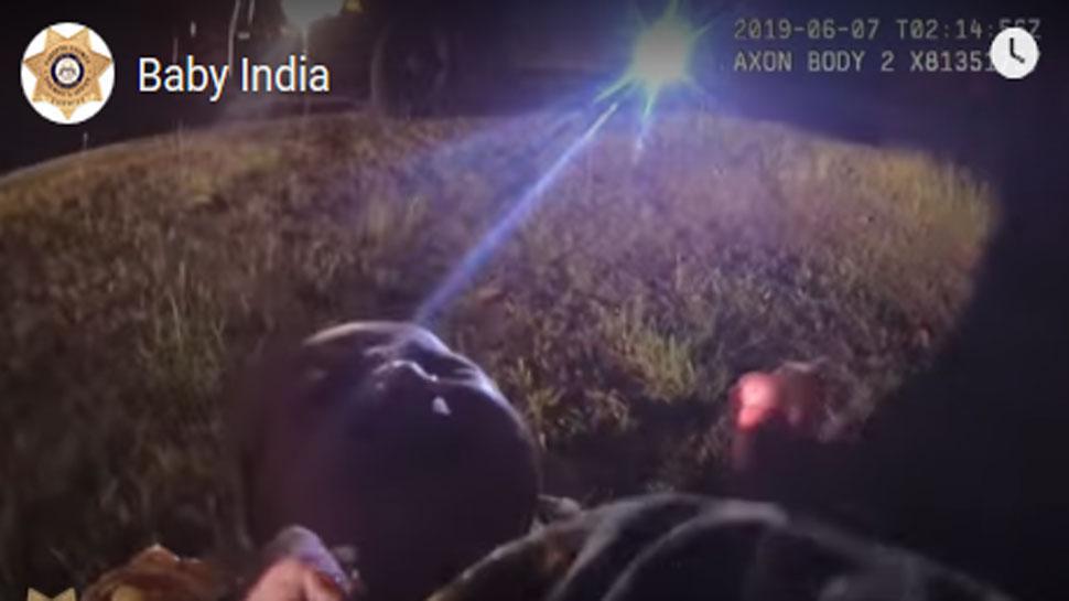 VIDEO: प्लास्टिक बैग में मिली नवजात बच्ची, अमेरिकी पुलिस ने नाम दिया- 'इंडिया'