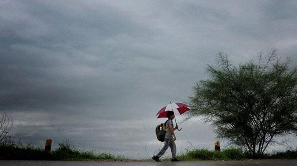 श्रीगंगानगर: गजसिंहपुर में हुई झमाझम बारिश, मौसम हुआ सुहावना