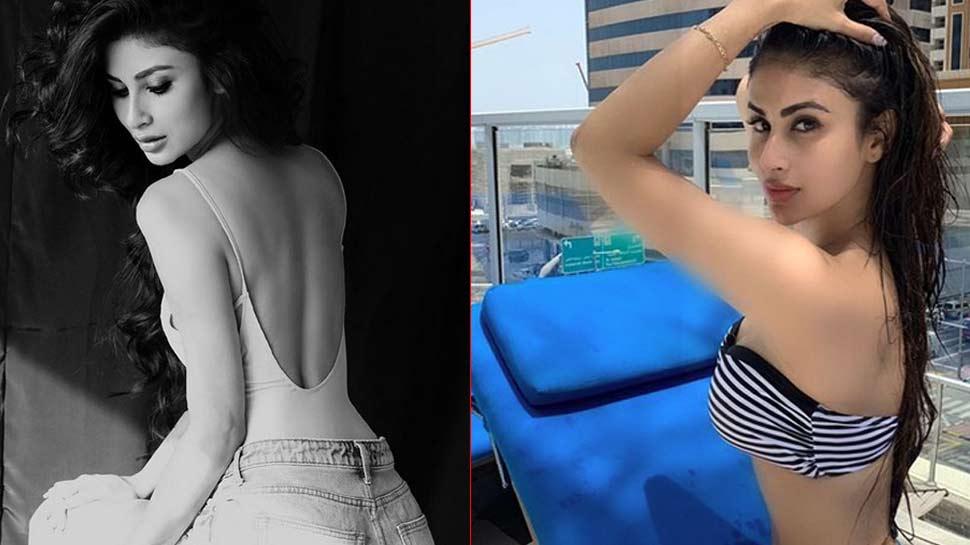 बैकलेस लुक के बाद मौनी रॉय की बिकिनी फोटोज Viral, कुछ ही घंटों में मिले लाखों व्यूज