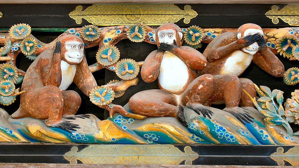 17वीं सदी के जापान से आए हैं गांधी के तीन बंदर, पढ़ें-मिजारू, किकाजारू, इवाजारू की कथा