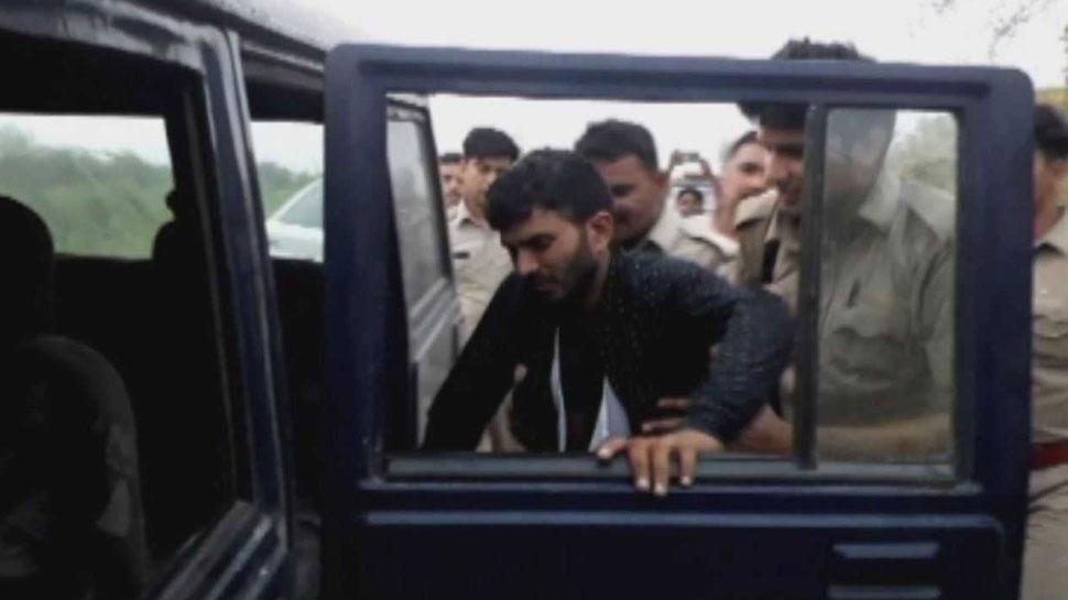 20 लाख की फिरौती नहीं मिली तो टैक्सी ड्राइवर का कर दी हत्या, मुठभेड़ के बाद गिरफ्तार