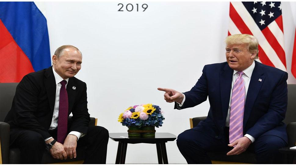 डोनाल्ड ट्रंप ने रूसी राष्ट्रपति से G20 समिट में किया मजाक, सुनकर जोर से हंस पड़े पुतिन