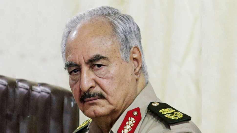 लीबिया: शक्तिशाली खलीफा हफ्तार ने तुर्की के जहाजों-नौकाओं पर हमले का दिया आदेश