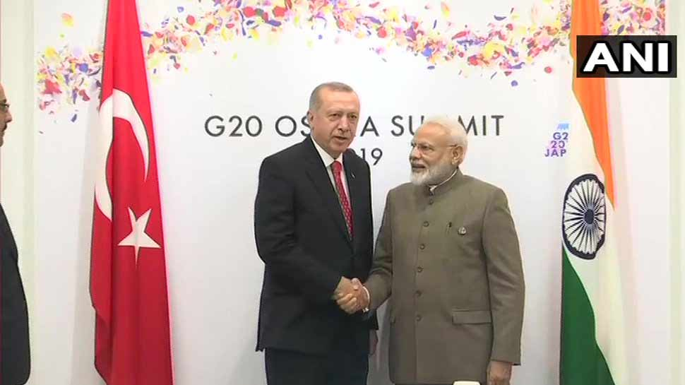 PM मोदी ने तुर्की के राष्ट्रपति से की मुलाकात, इन प्रमुख मुद्दों पर हुई चर्चा
