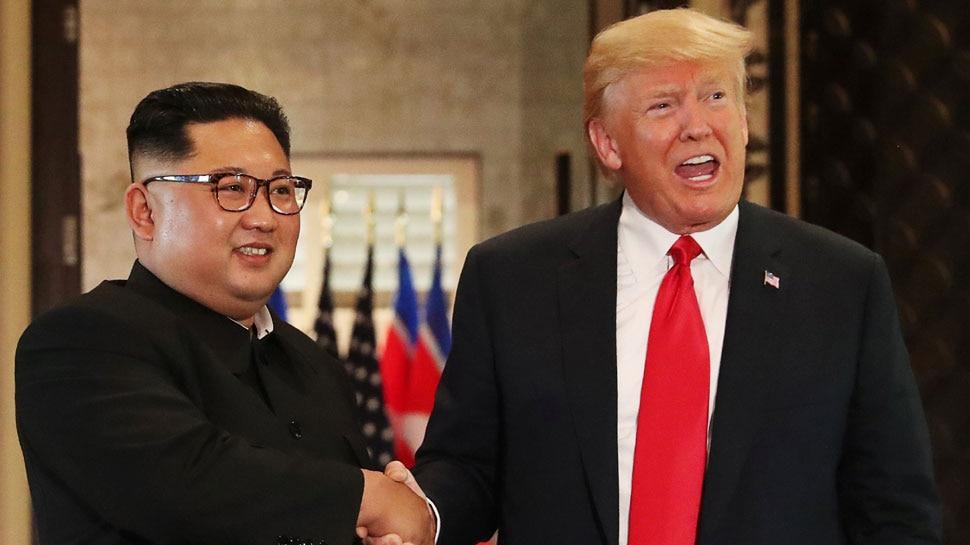 किम को ''हेलो'' बोलने अचानक उत्तर कोरिया बॉर्डर पहुंचे ट्रंप, हर तरफ मची खलबली