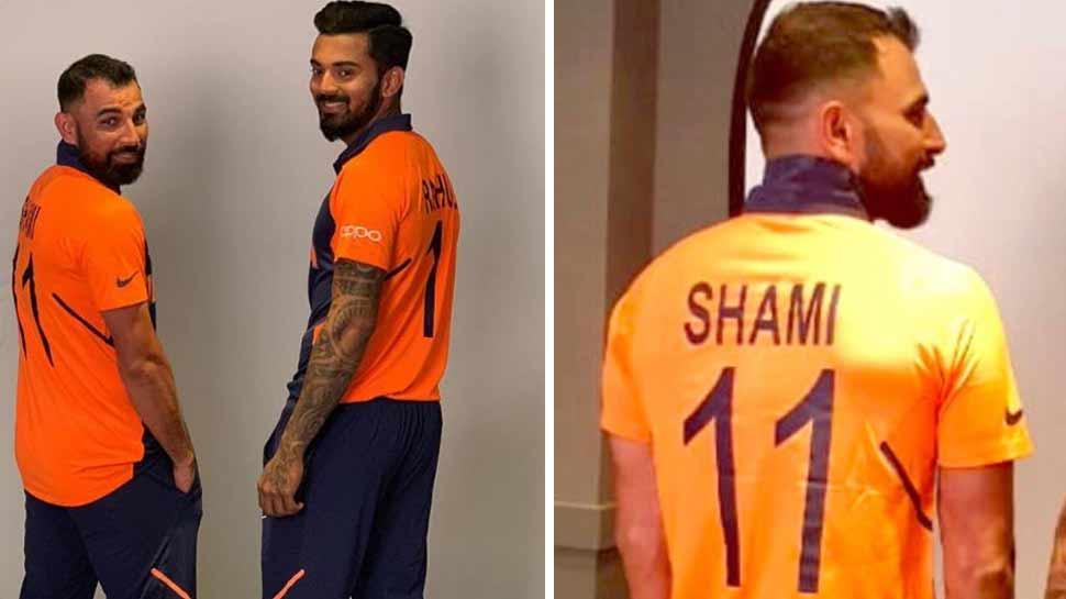 'भगवा जर्सी' विवाद: टीम इंडिया के तेज गेंदबाज मोहम्मद शमी के घरवालों ने दिया अब ये बयान