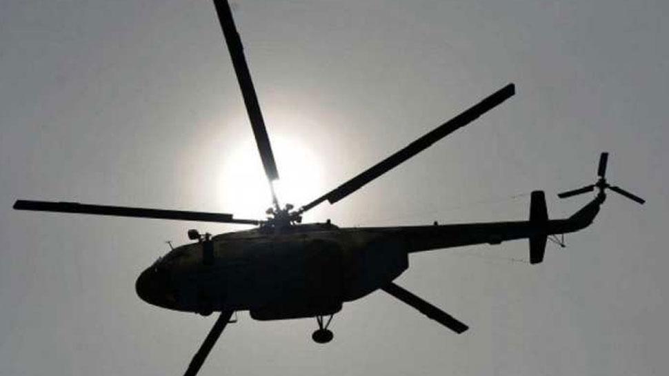 अलवर: अनियंत्रित होकर हवा में लहराया हेलिकॉप्टर, बाल-बाल बचे सांसद
