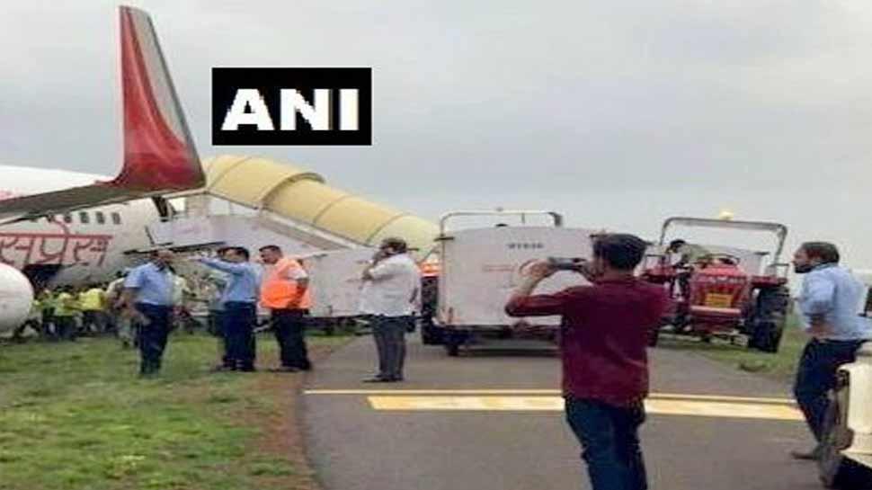रनवे पर उतरा एयर इंडिया का विमान अचानक फिसला, मुश्किल में फंसी यात्रियों की जान