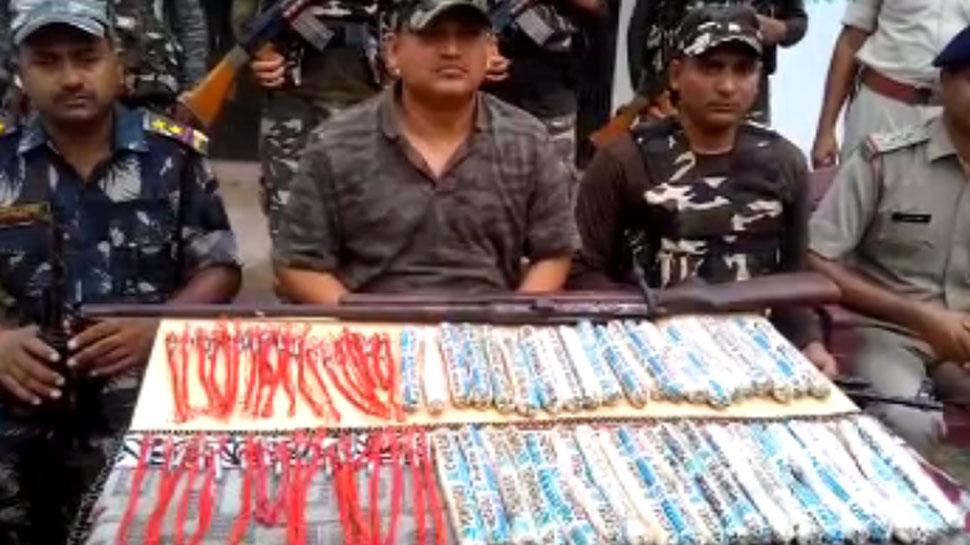 बिहारः नवादा में सर्च अभियान के दौरान बरामद हुआ भारी मात्रा में विस्फोटक