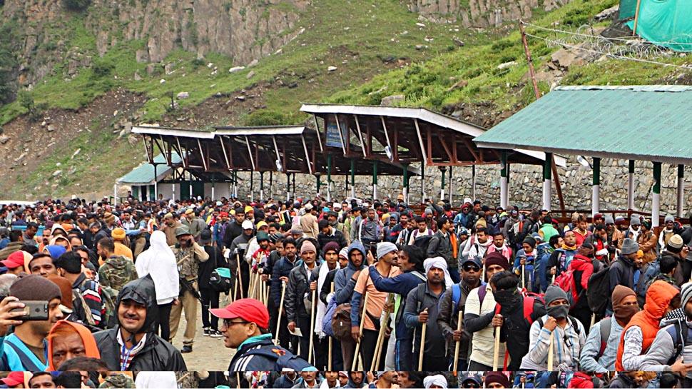 अमरनाथ यात्रा के दौरान राजमार्ग पर यातायात, रेल सेवा पर पाबंदी, महबूबा-उमर ने किया विरोध