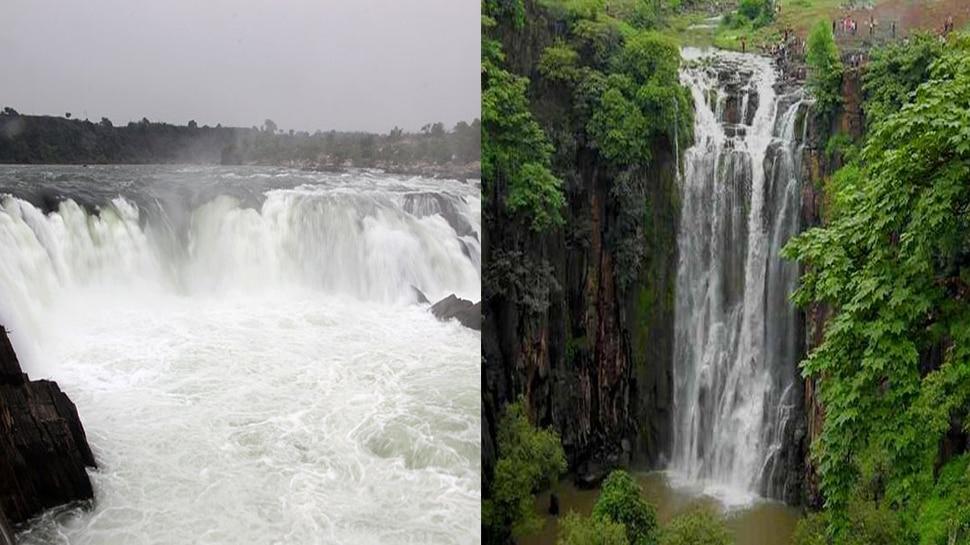 बारिश के बाद मध्य प्रदेश में बढ़ी पर्यटकों की भीड़, भेड़ाघाट और पातालपानी बना पहली पसंद