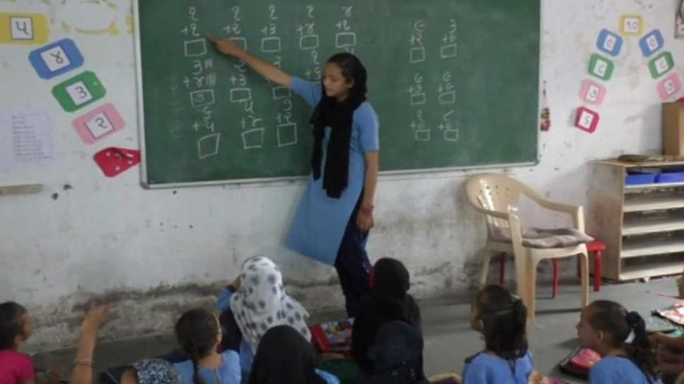 सूरतः इस स्कूल में नहीं है शिक्षकों का पता, 5वीं के बच्चों को पढ़ाते हैं 8वीं के छात्र