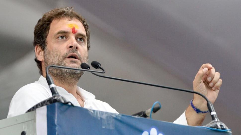 राहुल गांधी ने कार्यकर्ताओं से कहा- हार से निराश न हों, हम अमेठी नहीं छोड़ेंगे