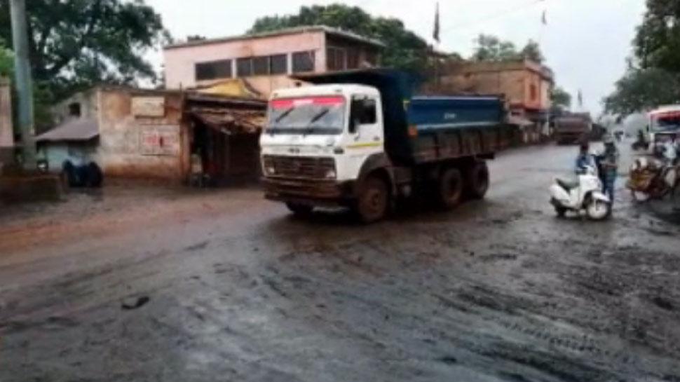 झारखंडः लाखों का राजस्व देने वाली बड़ाजामदा की सड़कें है बदहाल, लाइफलाइन ठप