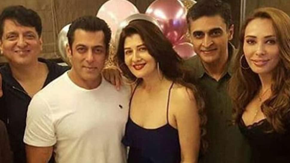 सलमान खान ने होस्ट की EX-गर्लफ्रेंड की बर्थडे पार्टी, पुराने दोस्त आए नजर
