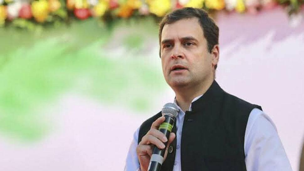 राहुल गांधी का आरोप- किसानों के साथ बुरा बर्ताव कर ही है केंद्र सरकार