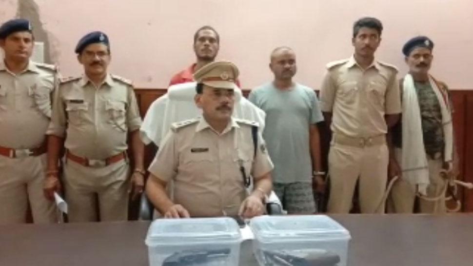 बिहारः पिता और भाई के हत्या के मामले में फरार दो अपराधी गिरफ्तार
