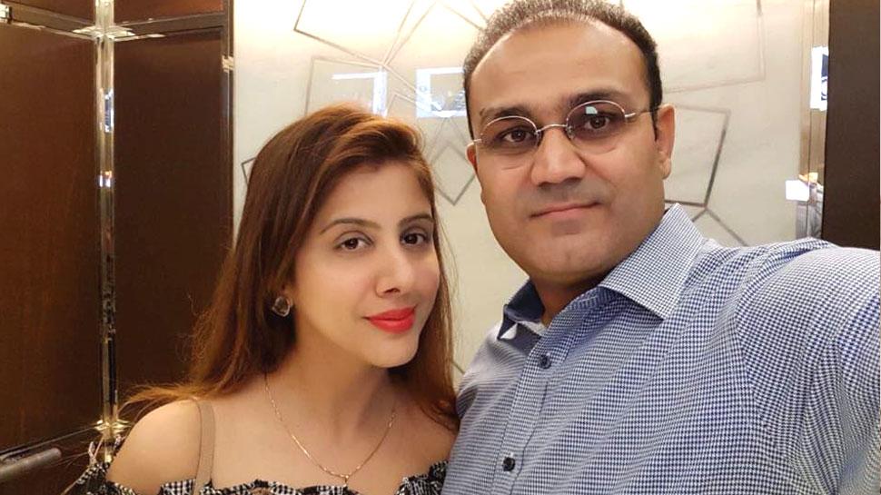 वीरेंद्र सहवाग की पत्नी आरती के साथ 4.5 करोड़ रुपये की धोखाधड़ी, पार्टनर्स के खिलाफ केस दर्ज