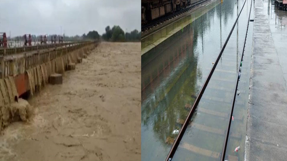 बिहार में शुरू हुआ बाढ़ का कहर, टूट गया रेल और सड़क से 11 जिलों का संपर्क