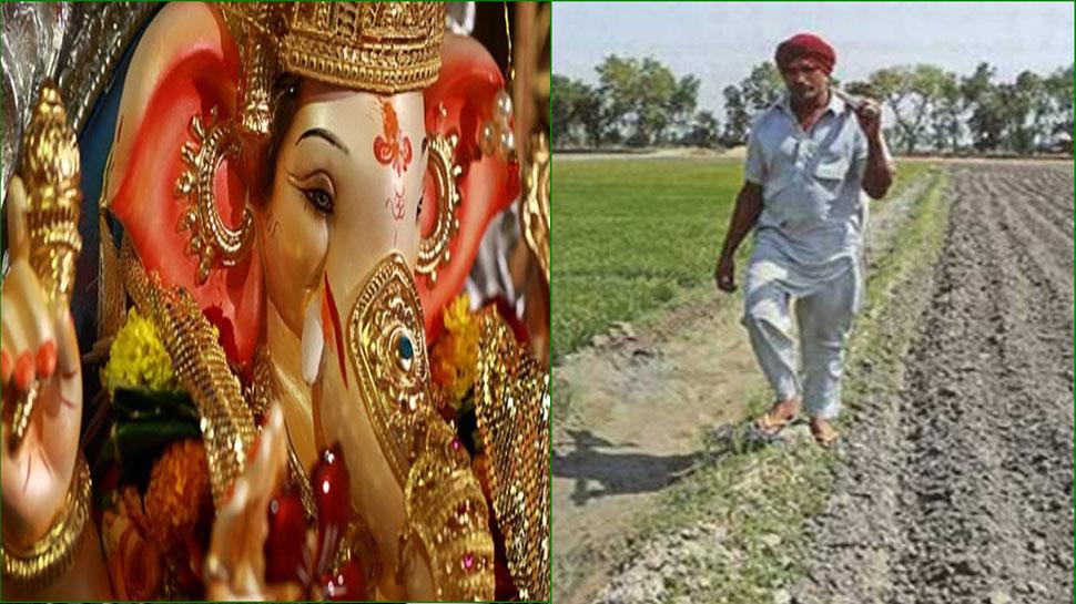 त्रिनेत्र गणेश मंदिर में लगती है किसानों की भीड़, ले जाते हैं 5 कंकण, करते हैं प्रार्थना