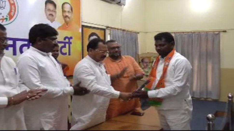 JVM के नेता सूर्य हांसदा BJP में शामिल, कहा- संथाल परगना से JMM का करूंगा सफाया
