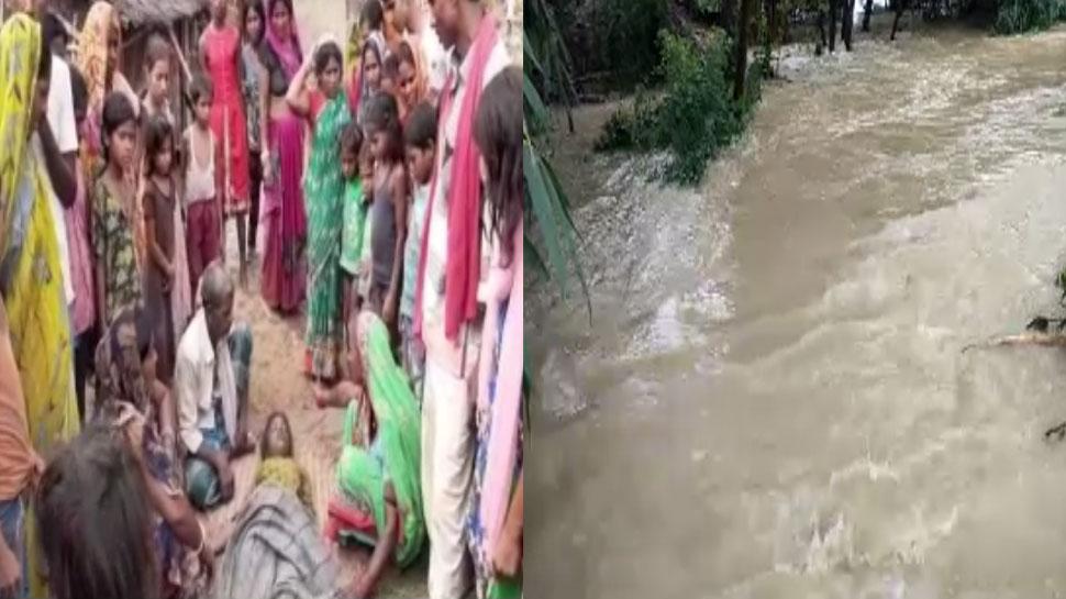 मोतिहारी में बाढ़ के हालात हो रहे हैं भयावह, जिले में अब तक एक दर्जन लोगों की मौत