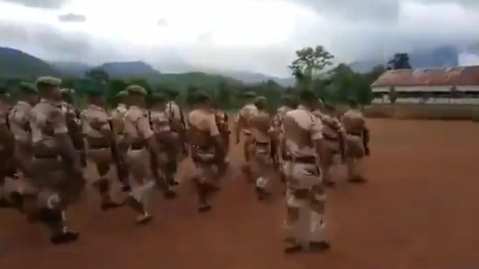 नगालैंड पुलिस ने रफी के सुपरहिट गाने पर की परेड, VIDEO देखकर  बिग बी बोले- 'वाह क्या बात है'