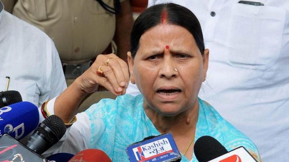बिहार: बाढ़ पर राबड़ी देवी ने साधा निशाना, कहा- 'CM सर्वेक्षण सड़क से करें प्लेन से नहीं'